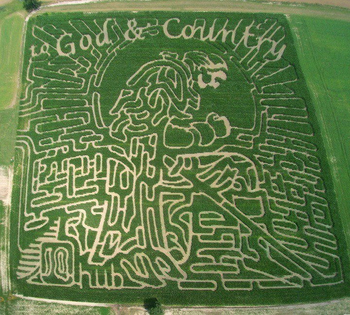 Corruna Michigan Corn Maze
