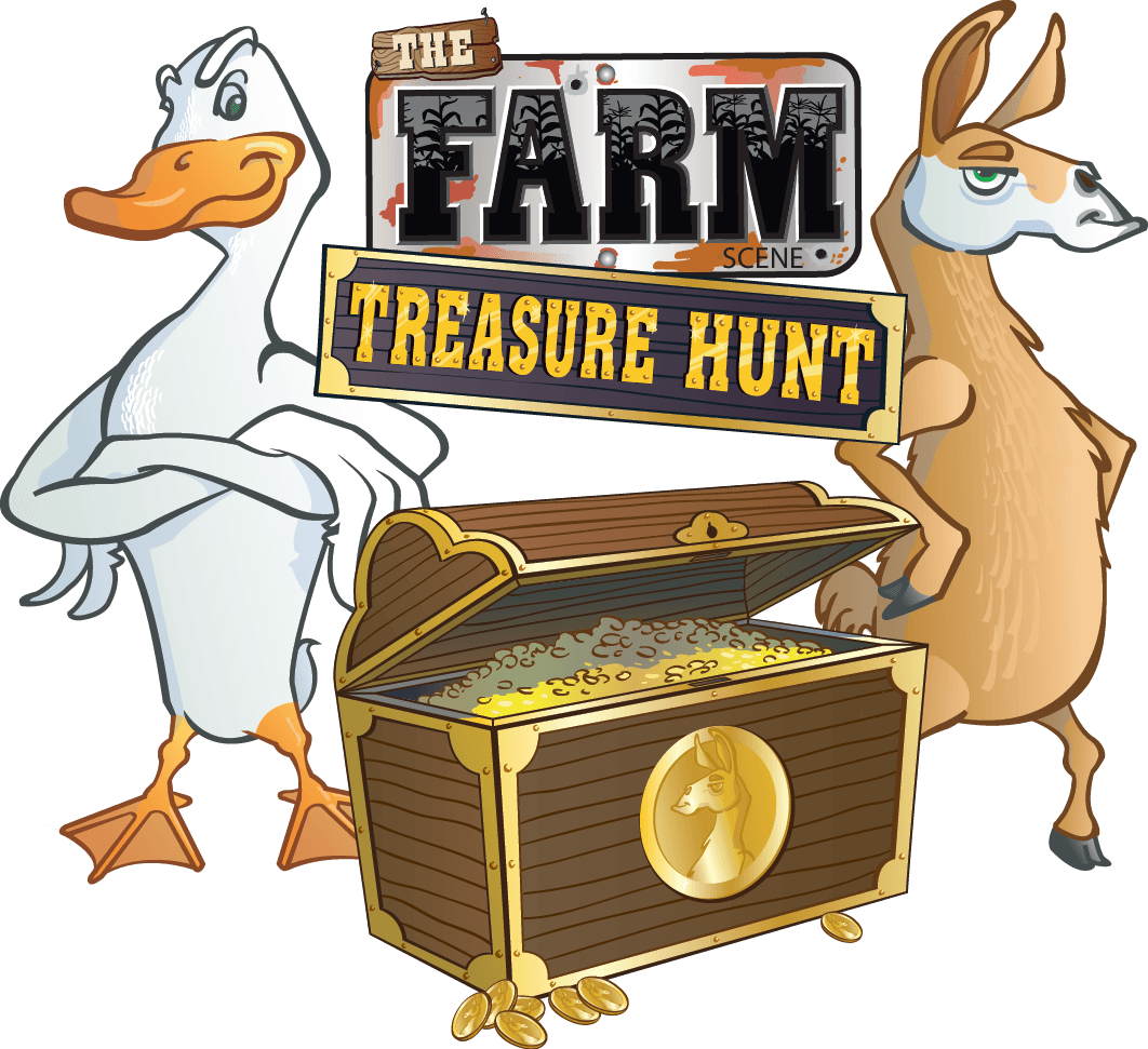 The Farm Scene Treasure Hunt